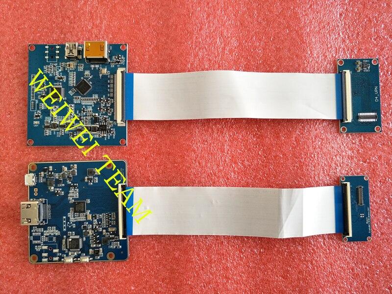 HDMI superior MIPI Placa de controlador para wanhao D7 duplicador 7 3D impresora de placa de controlador