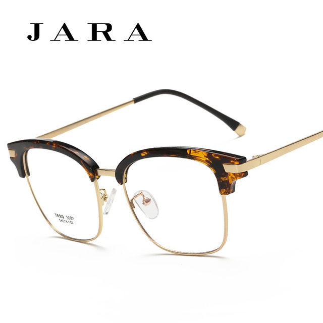 5d18a816299 Hot Sale Eyebrow Shape Metal Material Imports TR90 Myopia Glasses General  Large Square Frame Glasses Frame
