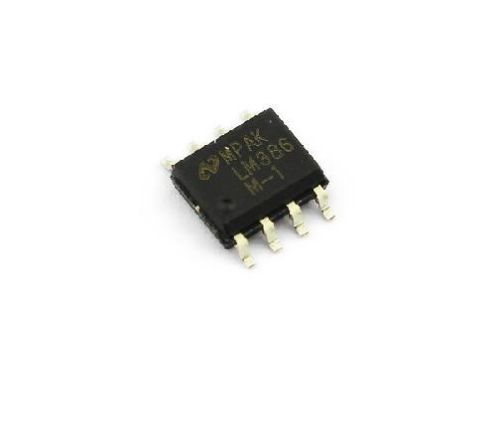 все цены на  5 PCS LM386 LM386M-1 SOP-8 Audio Power AMPLIFIER IC  онлайн
