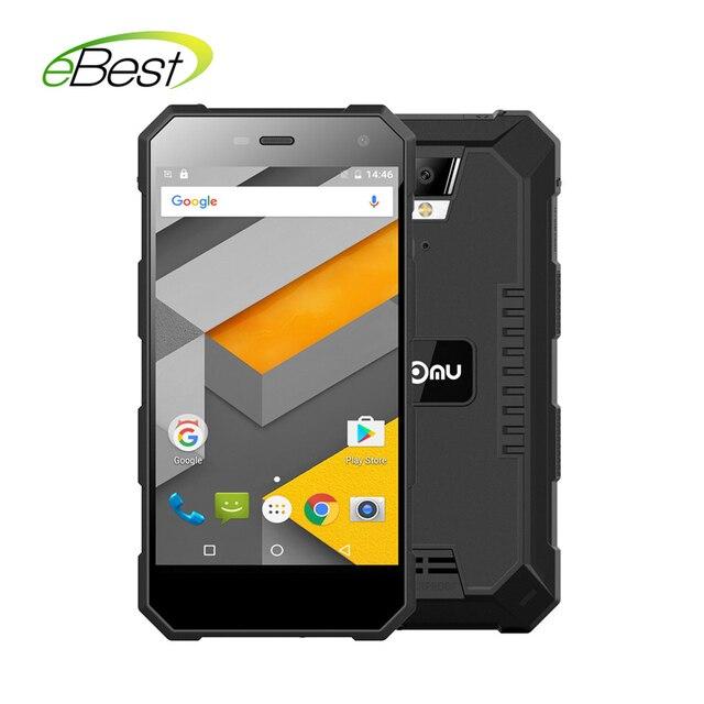 "5000mAh Nomu S10 Waterproof 5.0"" Smart phone MTK6737T Quad core 2G RAM 16G ROM OTG 8.0MP Camera 4G Lte Mobile phone"