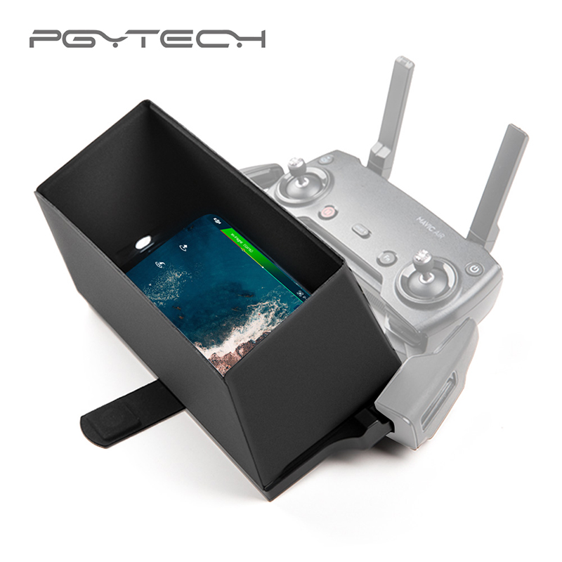 PGYTECH Phone X Monitor Hood for DJI Remote Controller Cover Sun Shade for DJI Mavic 2/Air Drone iPhone XS Max Xr Huawei P20/30