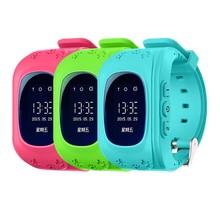HEIßER Smart Kinder Kid Armbanduhr Q50 GSM GPRS GPS Locator Tracker Anti-verlorene Smartwatch Kind Schutz für iOS Android