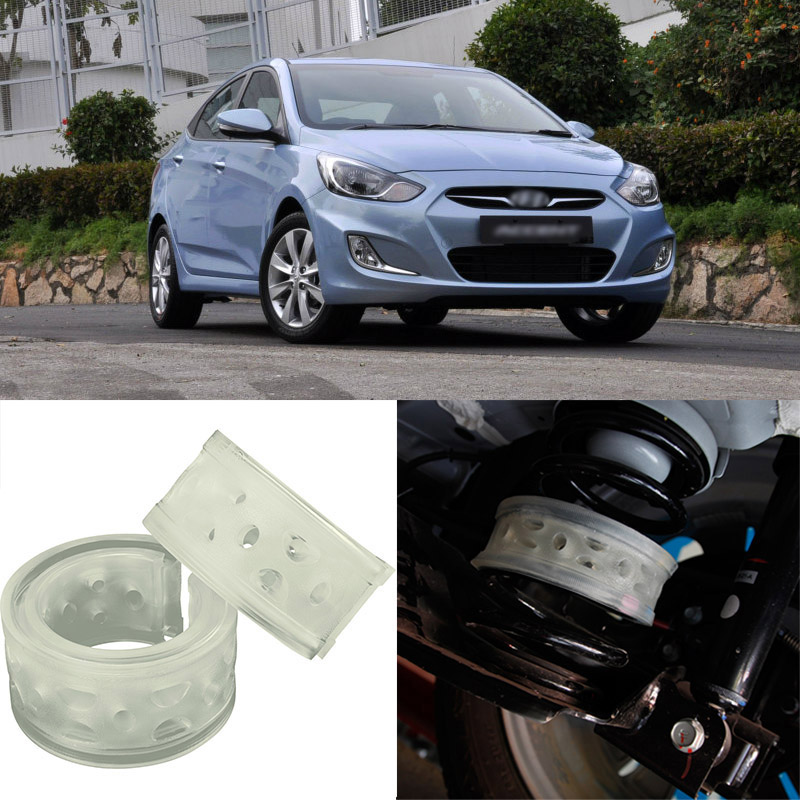 For Hyundai Accent High Quingity Front /Rear Car Auto Shock Absorber Spring Bumper Power Cushion Buffer  high quality front rear car auto shock absorber spring bumper power cushion buffer for volvo xc70