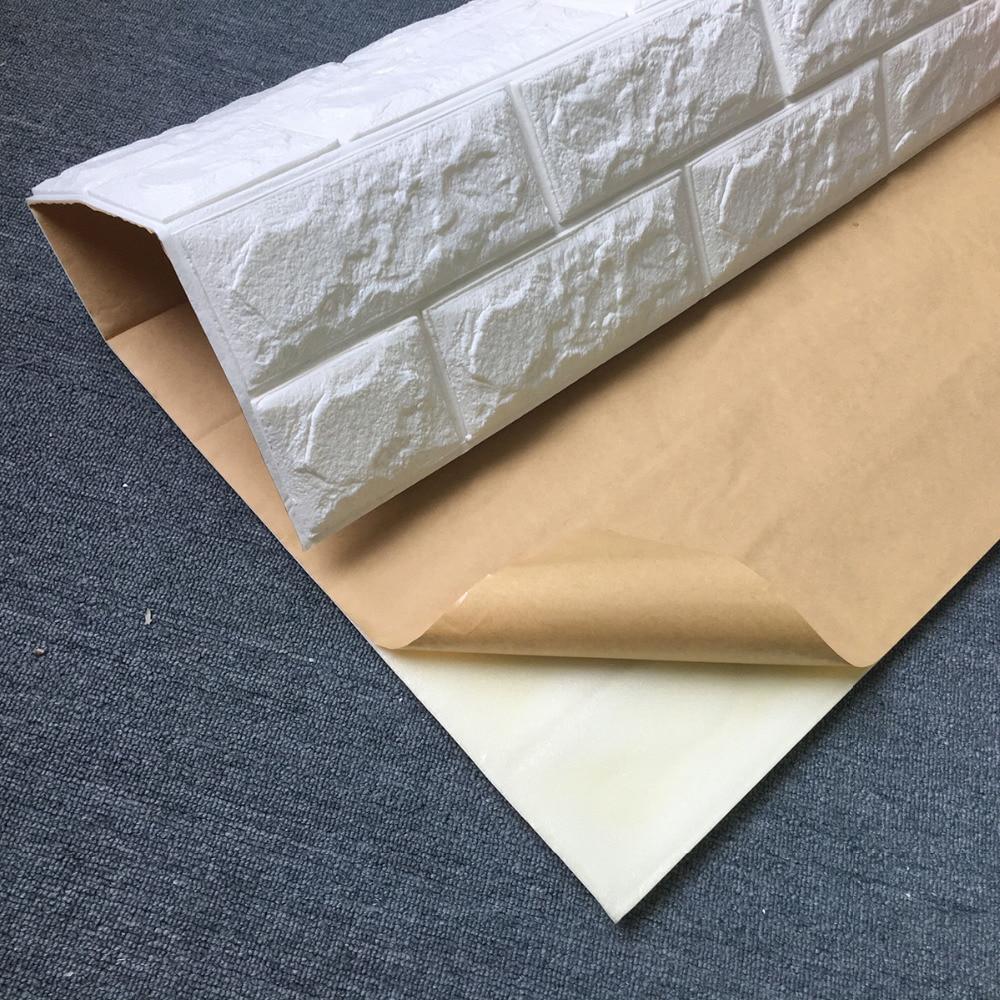 2.6Ft x 2.3Ft Peel in palica 3D stenske plošče za TV stene / ozadje - Dekor za dom - Fotografija 3