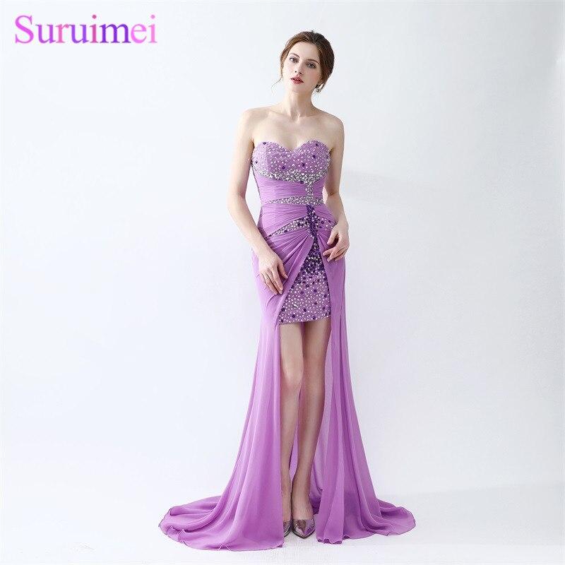 Online Get Cheap Short Purple Prom Dresses -Aliexpress.com ...