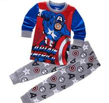 527c772f65 Kids Boys Cartoon Pajamas Toddler Sleepwear Clothes Sets Infant Child Robe  Children New Year Pijamas For Girls Christmas Pyjamas