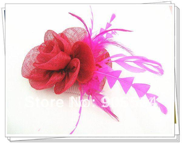 Элегантные шляпки из соломки синамей с вуалеткой хорошие Свадебные шляпы высокого качества женские коктейльные шляпы очень красивые несколько цветов MSF104