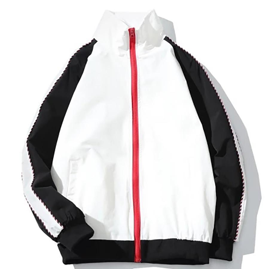 Blouson aviateur surdimensionné hommes Streetwear Hip Hop Anorak veste mode coréenne décontracté lâche Harajuku été hommes vestes 2018 5Jk60