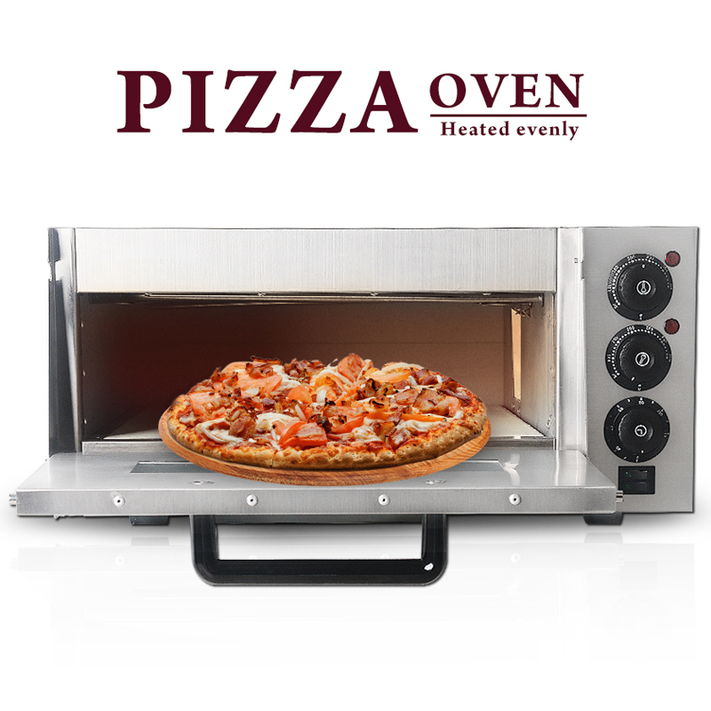 Electric Commercial Pizza Oven Single Layer Roster Tools UK Plug Pie Cake Makers Professional Pizza Equipment
