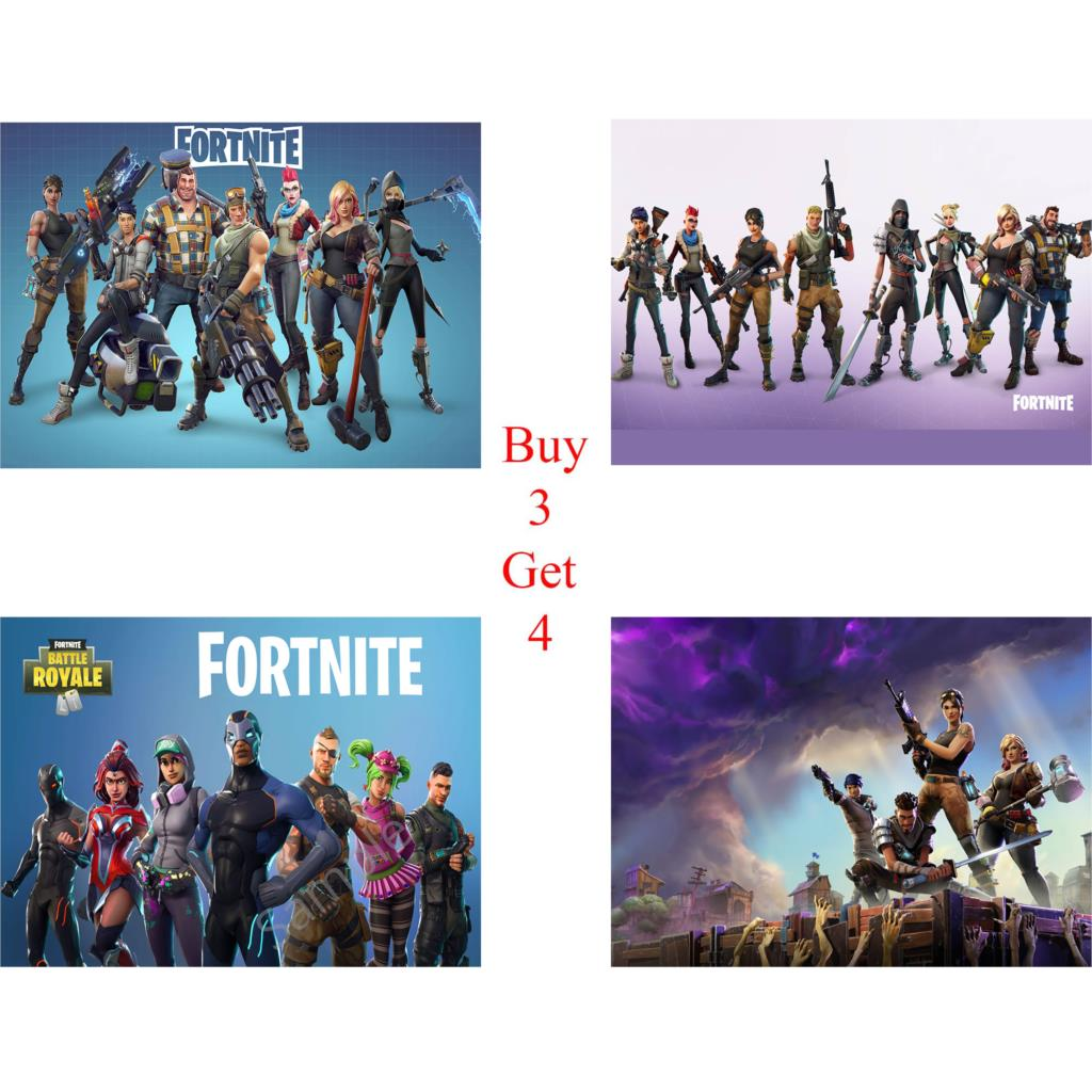 Fortnite Fortnite Gaming Posters Gaming Wall Art E Video Game