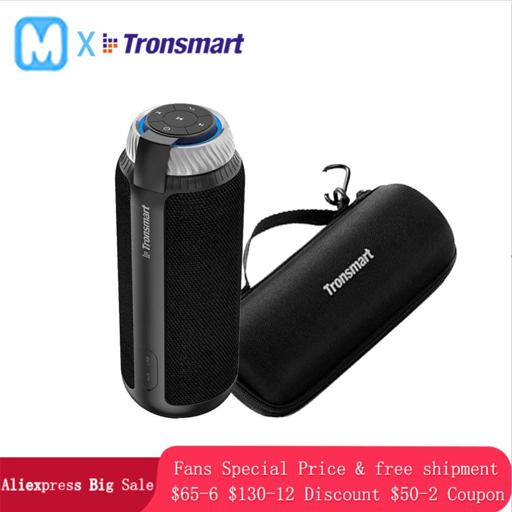Tronsmart T6 Portable wireless Bluetooth Speaker Mini Speakers USB Gift l Column subwoofer Soundbar Audio Receiver