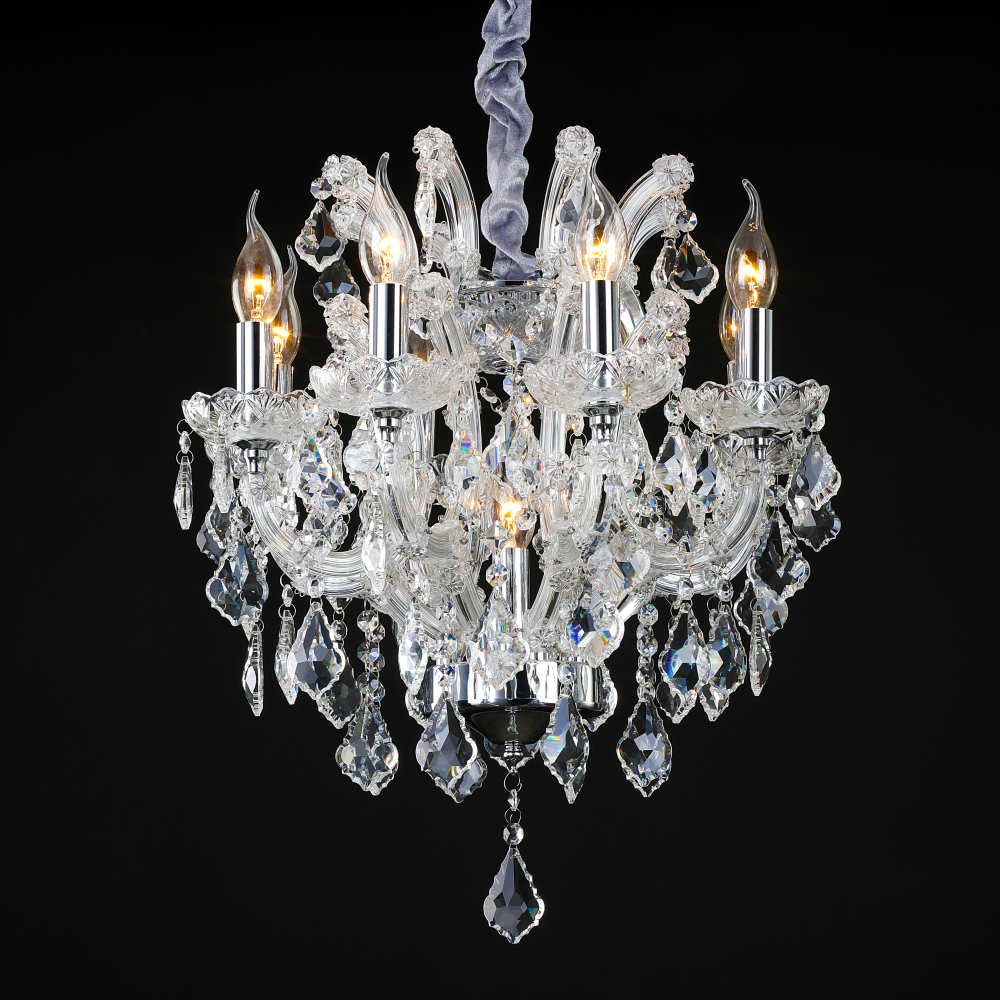 Austrian Crystal Chandeliers In Living Dining Room Russia Chandelier Lights Lamp Res De Cristal Led Lampadario