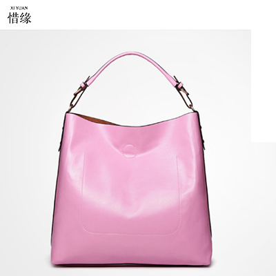 Real 100% Genuine Leather Bags Bucket Shopping Tote Bags Famous Designer Brand Handbags Large Ladies Shoulder Bags For Women red women s genuine leather bucket bags ladies crossbody bags designer brand handbag causal tote big shopping shoulder bag for women