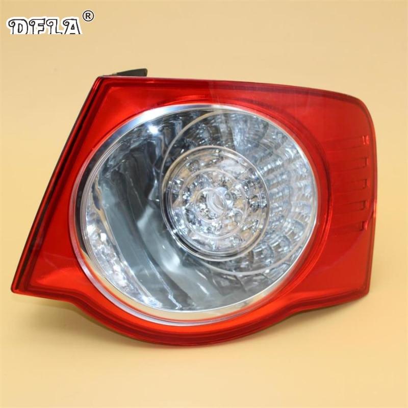Car Led Light For VW Jetta V 5 2005 2006 2007 2008 2009 2010 2011 Car-Styling LED Rear Tail Light Lamp Right Side Outer LHD