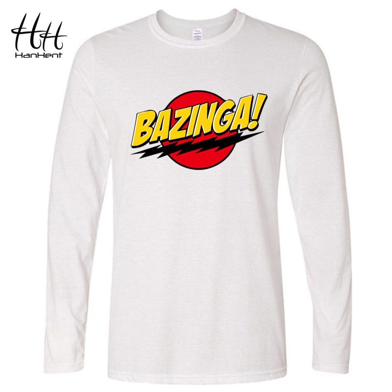 Funny The Big Bang Theory Bazinga Sheldon Mens Short Or Long Sleeve T-Shirt