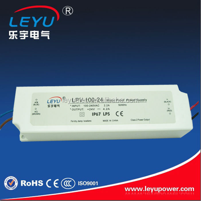 все цены на  LPV-100-24 CE IP67 high quality high efficiency waterproof power supply made in china  в интернете