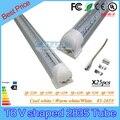 25 PCS SMD 2835 V em forma de T8 LED Integrado tubo de luz = 42 W = 32 W 5ft 4ft 6ft 8ft = 52 W = 70 W 85-265 V 3 anos de garantia do diodo emissor de tubos