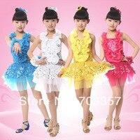New Designer High Quality Children S Day Sequin Halter Dress Girls Gauze Tutu Sequined Costume Contest