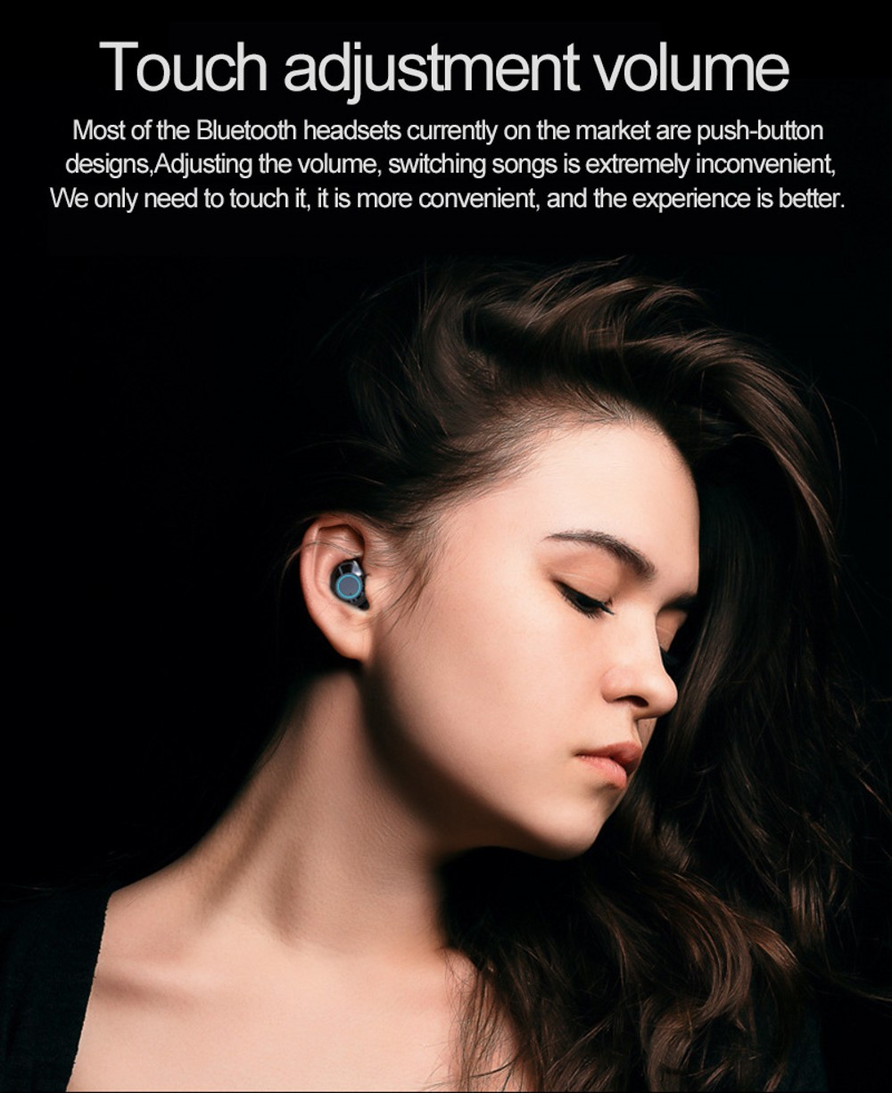 G02 TWS 5 0 Bluetooth 9D Stereo Earphone Wireless Earphones IPX7 Waterproof Headphones 3300mAh LED Smart Power Bank Phone Holder in Bluetooth Earphones Headphones from Consumer Electronics