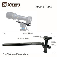 Xiletu LTB-450 Stable Telephoto zoom Lens Bracket Clamp Plate LongFocus Support Holder For Tripod monopod Ball