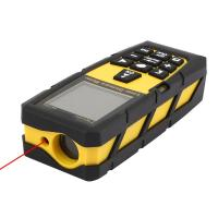 100M 328ft Digital Laser Distance Meter Rangefinder Measure Diastimeter Yellow Measurement Analysis Instruments