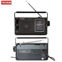 Original TECSUN R 304 R 304P High Sensitivity FM Radio MW/SW Radio Receiver Built In Speaker Digital Receiver Portable Radio