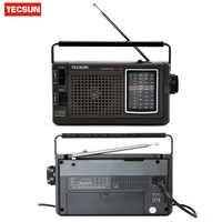 Original TECSUN R-304 R-304P de alta sensibilidad Radio FM MW/SW receptor de Radio incorporado receptor Digital Radio portátil