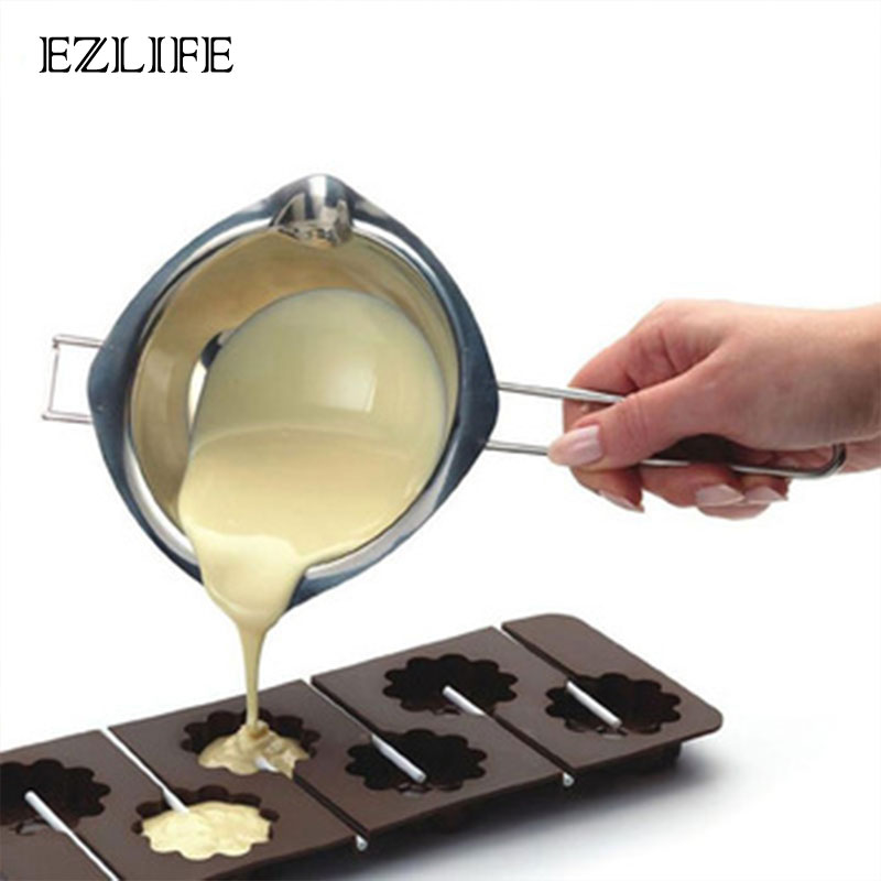 EZLIFE Stainless Steel Chocolate Melting Pot Double Boiler Milk Butter Candy Warmer Pastry Baking Tools Kitchen gadgetsEZLIFE Stainless Steel Chocolate Melting Pot Double Boiler Milk Butter Candy Warmer Pastry Baking Tools Kitchen gadgets