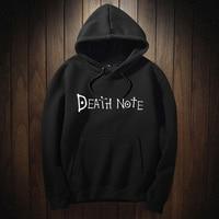 Death Note Hoody Sweatshirts Womens 2018 Hoodie Long Sleeved Pullovers Hoodies Kpop Clothes Japanese Anime
