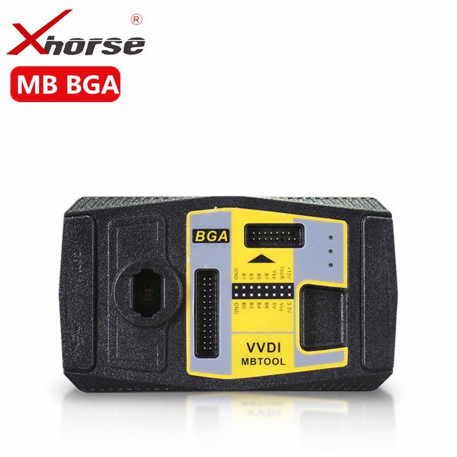 Xhorse VVDI MB BGA TooL para Benz clave del programador con BGA calculadora función herramienta BGA V4.1.0 para el cliente compró Condor cortador