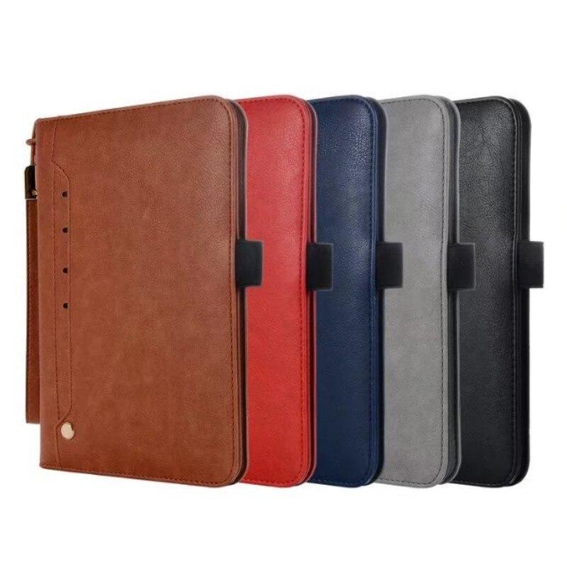 Luxury PU Leather Case for iPad mini 4 Retro Briefcase Auto Wake Up Sleep Hand Belt Holder Stand Flip Bags Cover for iPad mini4