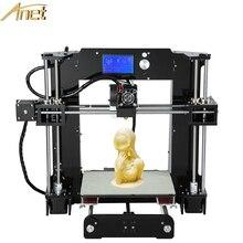 2016 de Alta Calidad de Gran Tamaño de Impresión Anet A6 Upgrated Reprap Prusa i3 Impresora 3D Kit DIY Con El PLA/ABS Filamento
