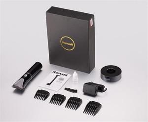 Image 4 - Cortadora de pelo profesional Turbo recargable para hombre, cortador eléctrico, Máquina para cortar cabello, peluquería, F17, 100 240V