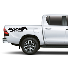 left and right 4x4 horse off road sticker decal vinyl for suv pickup car