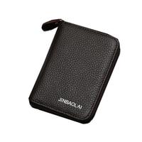 Men Wallet Small Clutch 100 Real Genuine Leather Wallet Famous Brand Designer Card Holder Money Pocket
