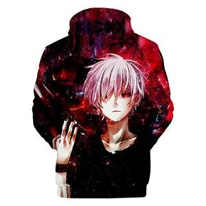 Image 2 - Tokyo Ghoul Hoodies Sweatshirts 2019Newest Fashion Funny Anime Hoodies and Sweatshirts 3d Tokyo Ghoul harajuku Hip Hop  Clothing