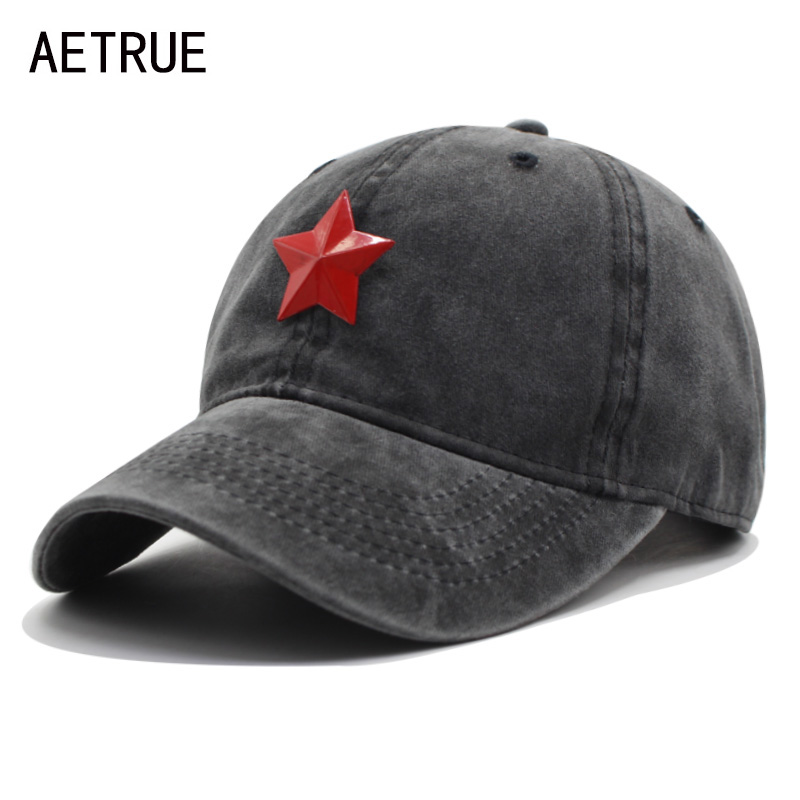 AETRUE New Baseball Cap Men Women Hats For Men Snapback Caps Cotton Casquette Brand Bone Gorras Five Star Baseball Hat Cap 2018 women cap skullies