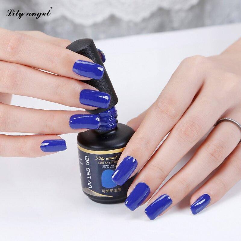 Lily angel 15ml 90 Colores magníficos disponibles Lámpara UV Soak - Arte de uñas - foto 3