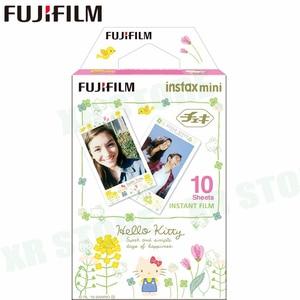 Image 3 - Fujifilm Instax Mini 11 8 9 Film Hello Kitty Geschilderd Fuji Instant Foto Papier 10 Vellen Voor 70 7S 50S 50i 90 Delen SP 1 2 Camera