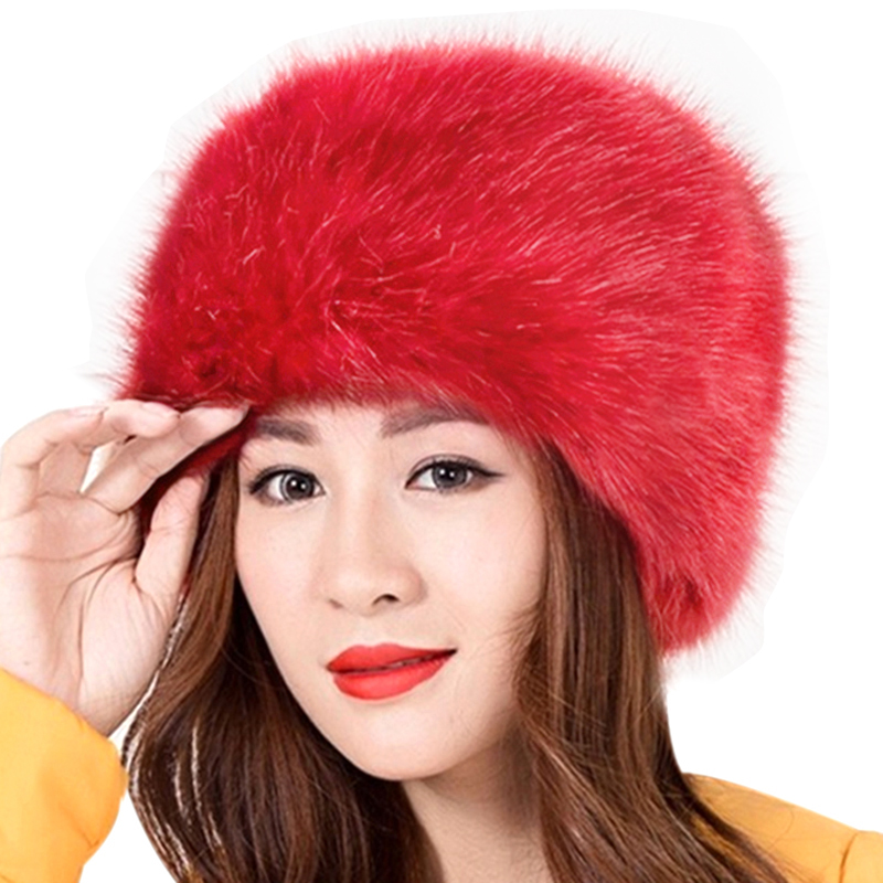 61e4a3836bd 2019 New Fashion Russian Faux Fur Cap - Web and Stuff
