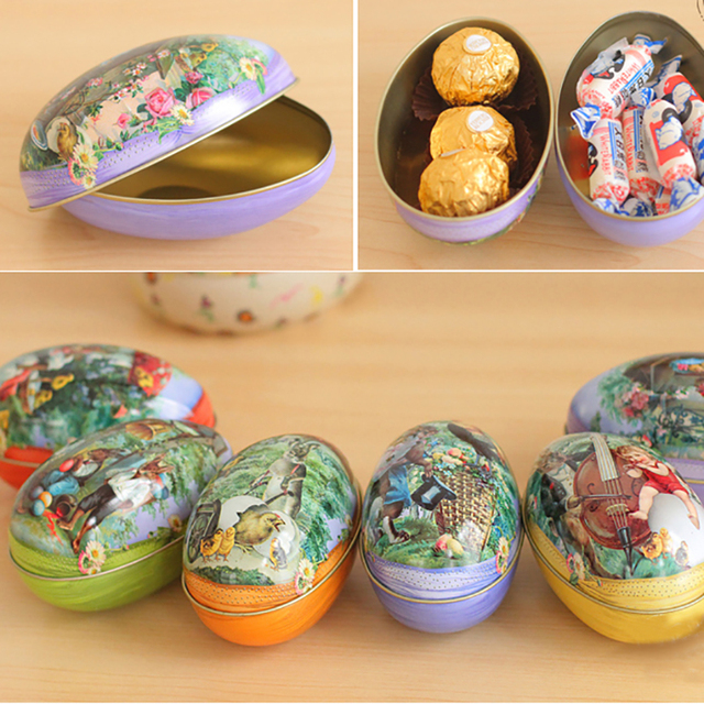 Easter decoration for gift easter eggs fairytale rabbits demountable easter decoration for gift easter eggs fairytale rabbits demountable play eggs for gifts candy favor mini negle