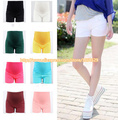 2015  summer Maternity Shorts High Waist Shorts for Pregnancy solid candy color Casual Shorts Trousers for Pregnant short  M236