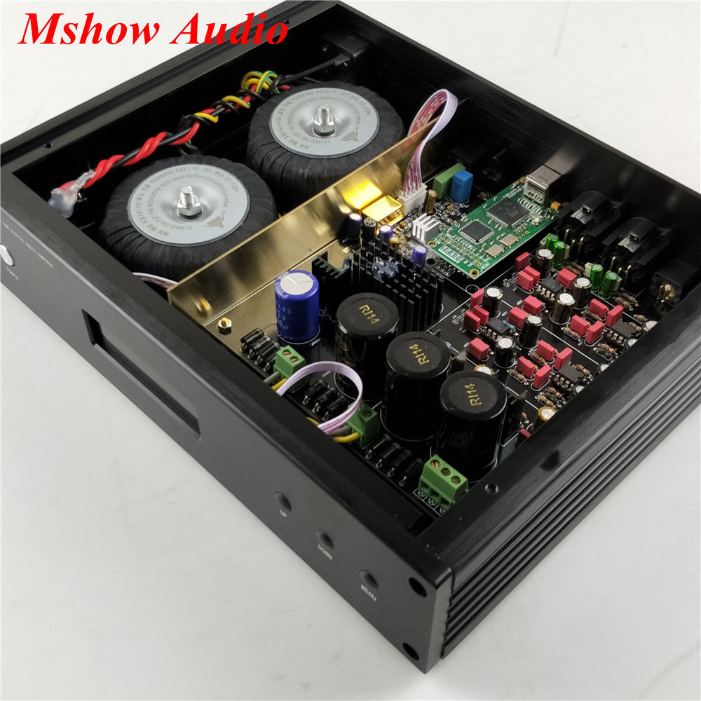 Image 4 - ES9038 ES9038PRO DAC DSD Decoder HIFI Audio + AD797 MUSES8920 + Amanero USB-in Amplifier from Consumer Electronics