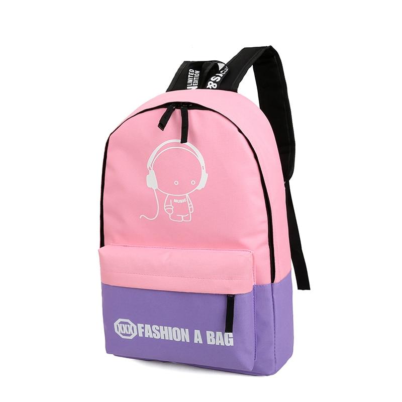 conjuntos menina luminosa joypessie mulheres Técnica : Thick Nylon Backpack