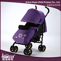 Hot Sale Baby Stroller With Popular Imitate Linen Fabric and Cotton mattress and Footmuff