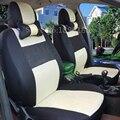 Asiento de Coche Universal Cubre Para SsangYong Korando Actyon Kyron Rexton Presidente NEGRO/GRIS/AZUL accesorios del coche etiqueta engomada del coche