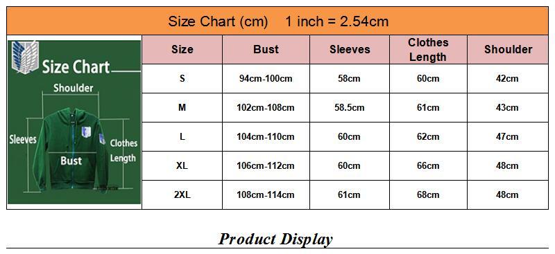 CS005 size