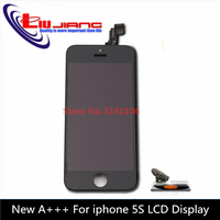 XIANHUAN NEW AAA for iPhone 5s LCD Display Touch Screen Front Housing Assembly Repair Gift