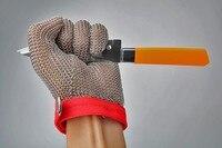 2017 neue Edelstahl-drahtgewebe Schnittschutzhandschuhe Für Holzschnitzerei Und Fleisch Schneiden Selbst Landesverteidigung Persönliche Schutz