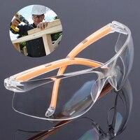 Safety Glasses Dust-Proof Glasses Transparent Working Glasses Lab Dental Eyewear Splash Protective Anti-wind Glasses Goggles